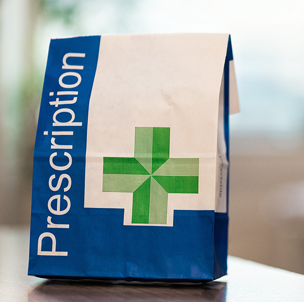 Request medication using Patient Access